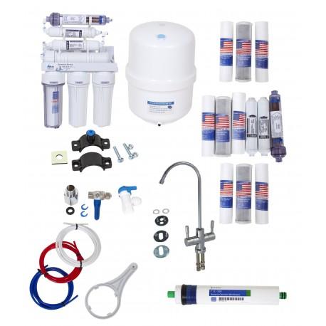 Filtr do wody RO7-100GPD-WPI2 System Odwróconej Osmozy